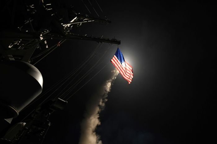 United States attack on Syria air base crossed 'red lines': Assad allies