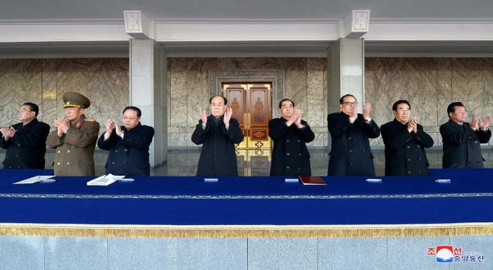 - (KCNA VIA KNS/AFP/File)