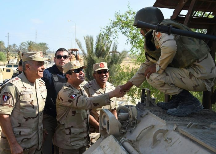 MOHAMED ABDELMOATY (EGYPTIAN PRESIDENCY/AFP/Archives)