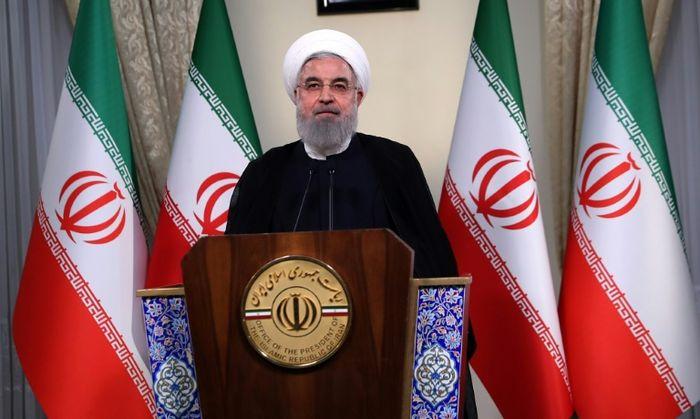 HO (IRANIAN PRESIDENCY/AFP)