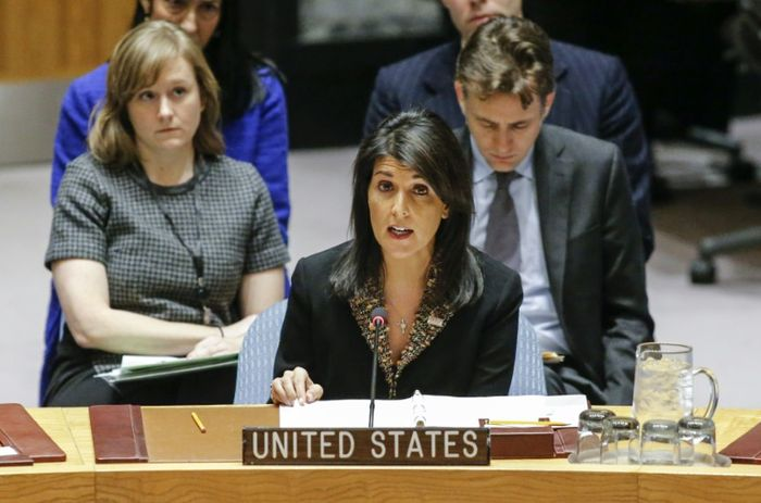United States  vetoes UN Security Council draft resolution on Jerusalem status