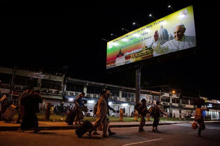 YE AUNG THU (AFP)