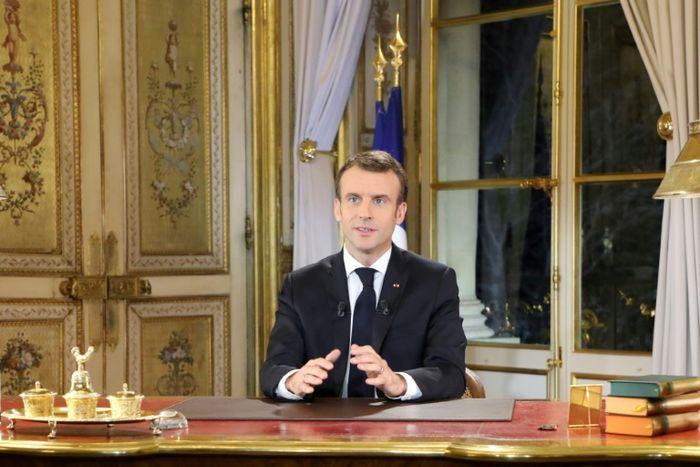 LUDOVIC MARIN (POOL/AFP)
