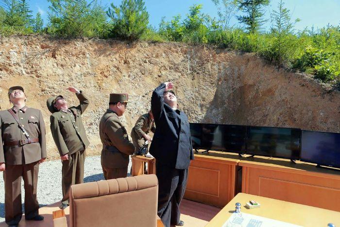 STR (KCNA VIA KNS/AFP)