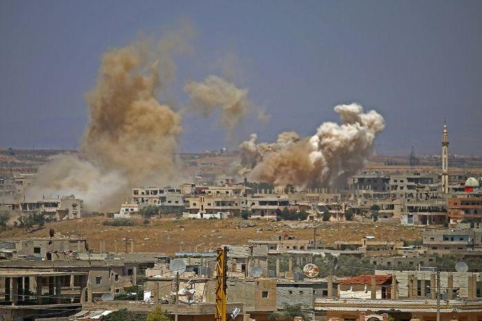 Mohamad ABAZEED (AFP)