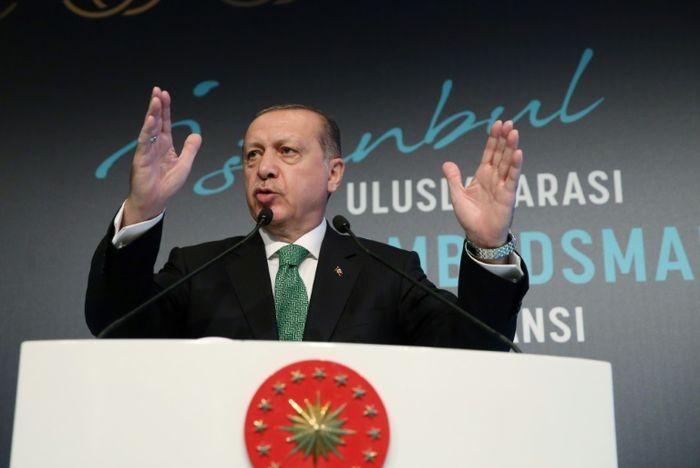 STRINGER (TURKISH PRESIDENT PRESS OFFICE/AFP/File)