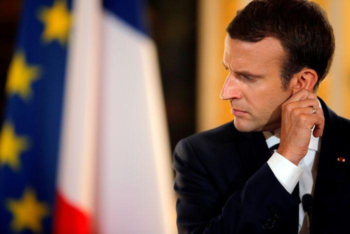 Emmanuel Macron reçoit les paysans — Crise dans l'agriculture