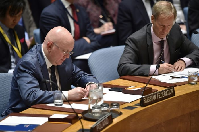 Security Council in emergency meeting on Syria airstrikes