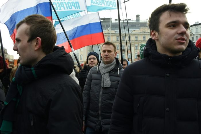 Russian Opposition Leader Alexei Navalny Detained Ahead Of Protest