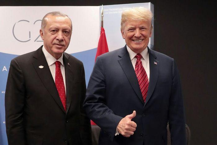 Murat CETINMUHURDAR (TURKISH PRESIDENTIAL PRESS SERVICE/AFP)