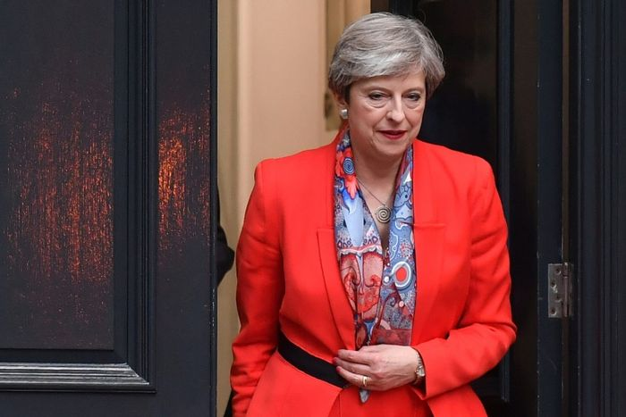 May to form government and will work with DUP