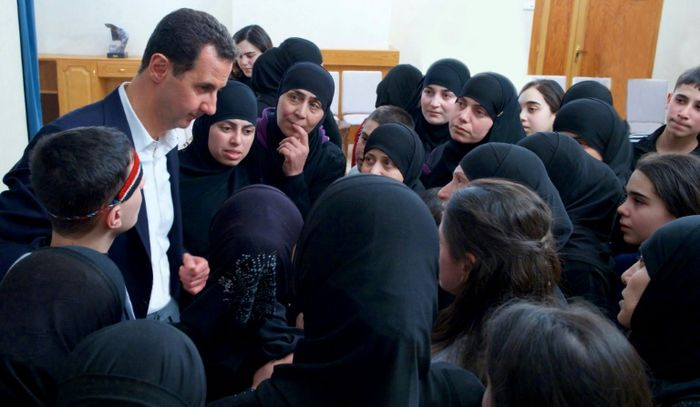 Assad says West has no right to choose Syria's future