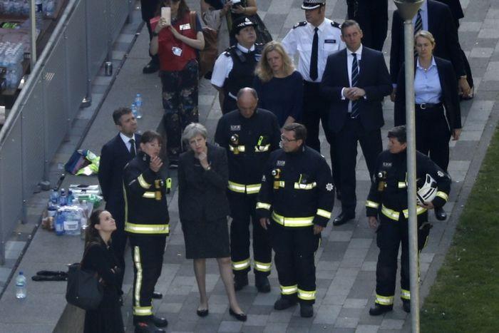 Incendie de Londres : 30 morts selon un nouveau bilan