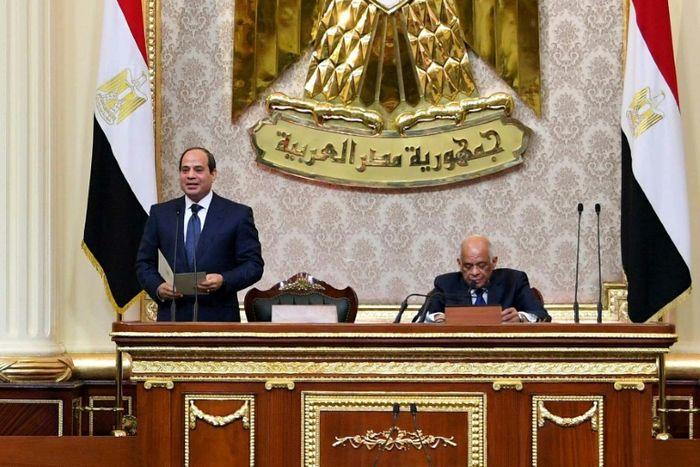 - (EGYPTIAN PRESIDENCY/AFP)