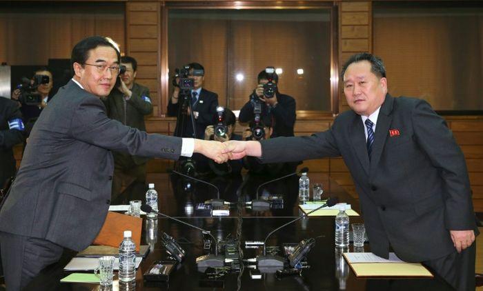 KOREA POOL (KOREA POOL/AFP)