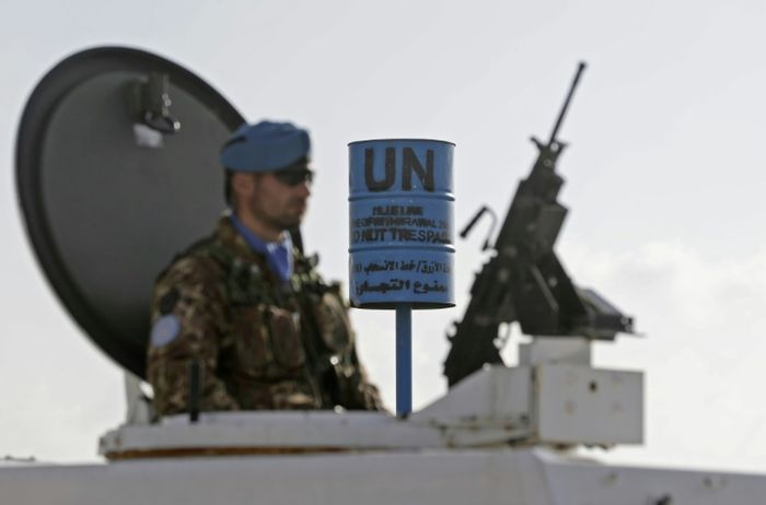 United Nations  force confirms presence of tunnel on Lebanon-Israel border
