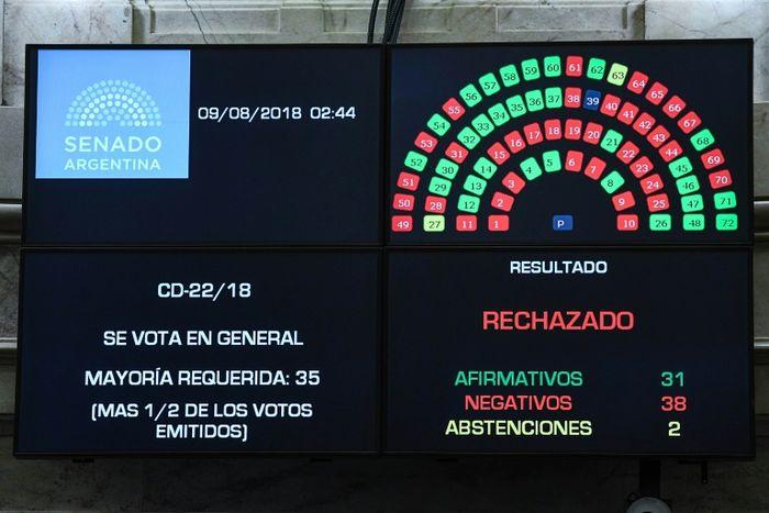 HO (Prensa Senado/AFP)