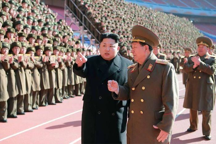 Kns (Kcna/AFP)