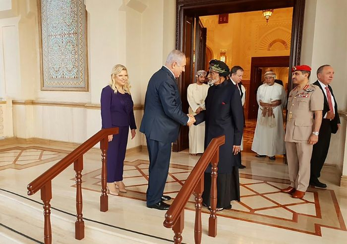 - (Benjamin Netanyahu Official Twitter Account/AFP)