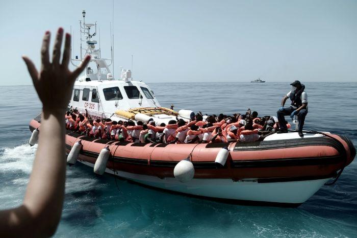 Karpov (MSF/SOS MEDITERRANEE/AFP)