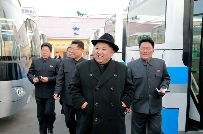 STR (KCNA VIA KNS/AFP/File)