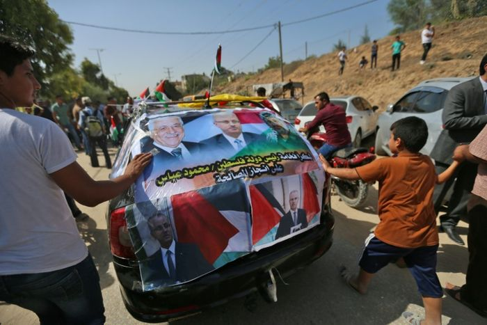 President Sisi calls for peace among Palestinian unity government live
