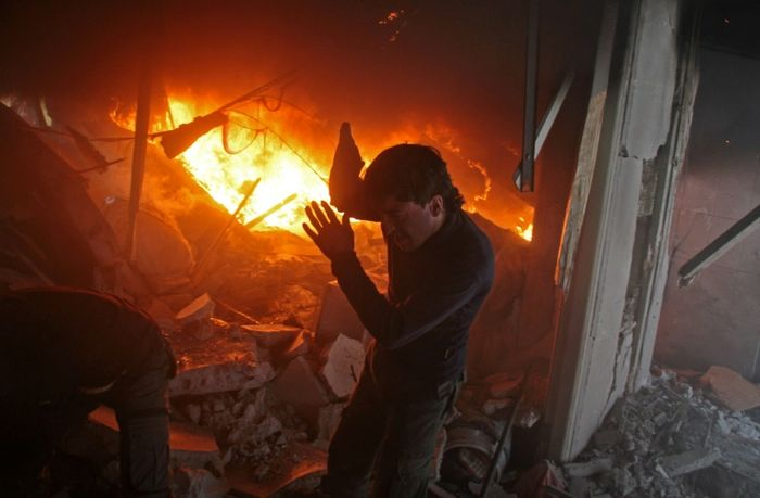 136 civilians killed as bombardment intensifies