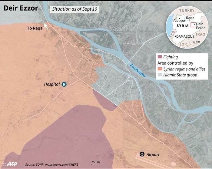 SDF maintains progress in Raqqa while continuing Deir ez-Zor push
