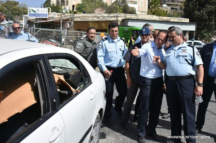 Courtesy Israel Police Spokesperson