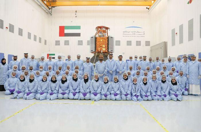 مركز الشيخ محمد بن راشد للفضاء