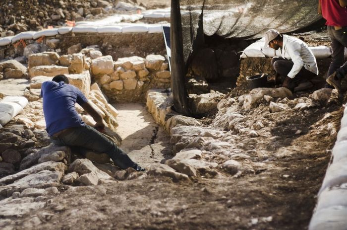 Credit: Yoli Schwartz, Israel Antiquities Authority