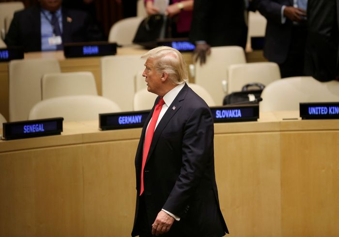 Trump urges for reforms as he makes United Nations debut