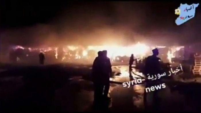 Syria News, via AP