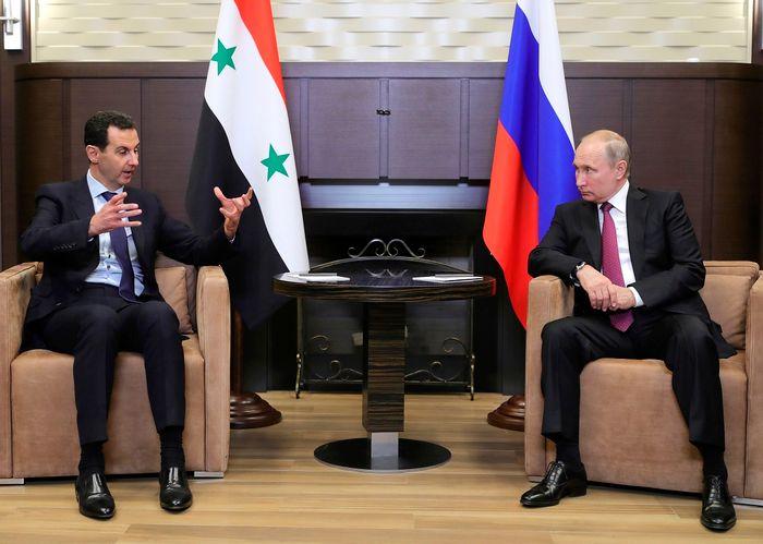 (Mikhail Klimentyev, Sputnik, Kremlin Pool Photo via AP)