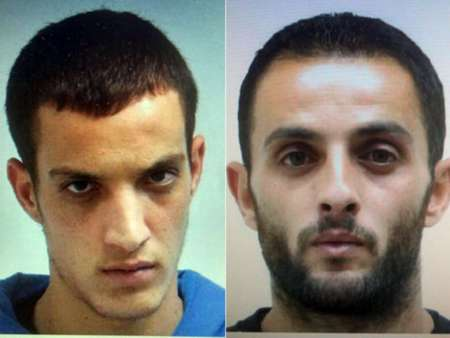 Jerusalem synagogue terrorists: Cousins Rassan,27 (R), and Uday Abu-Jamal,22, from Jabel al-Mukaber