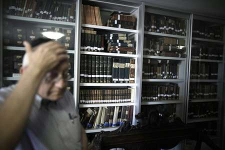 The mammoth task entitled the Historical Dictionary Project at Israel's Academy of the Hebrew Language began in 1959 ( AFP )