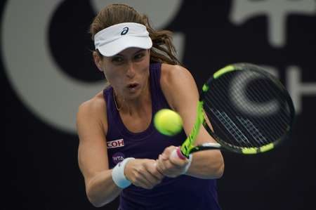 Britain's Johanna Konta is through to the semi-finals of the China Open after victory against Zhang Shuai  ( Nicolas Asfouri (AFP) )
