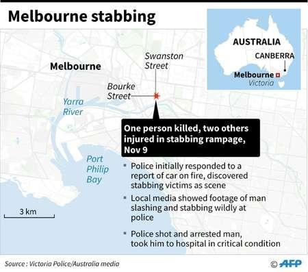Melbourne car attack ( Gal ROMA  (AFP) )