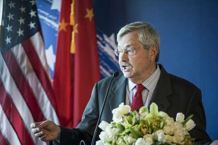 Terry Branstad, the US ambassador to Beijing, said that Washington was not seeking confrontation for its own sake ( FRED DUFOUR (AFP/File) )