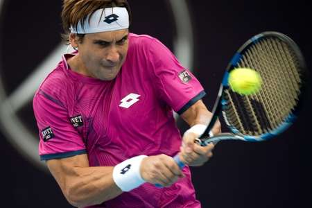 David Ferrer of Spain proved too strong for German youngster Alexander Zverev in the China Open semi-finals ( Nicolas Asfouri (AFP/File) )