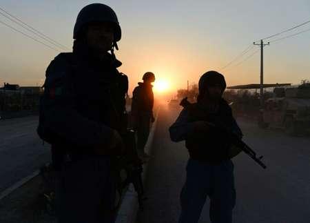 دورية للشرطة الافغانية في كابول في 29 آذار/مارس 2014 ( وكيل كوسر (ا ف ب/ارشيف) )
