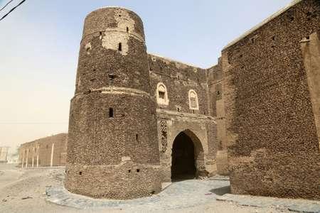 قسم من جدران المدينة الاثرية في زبيد في 24 شباط/فبراير. ( عبدو حيدر (AFP) )