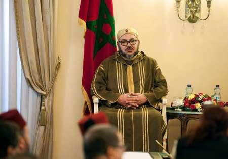 العاهل المغربي الملك محمد السادس في اديس ابابا