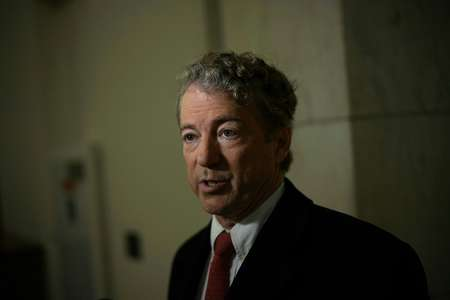Republican US Senator Rand Paul's refusal to allow an early vote on a critical funding bill helped send the US government sliding into its second shutdown in three weeks ( ALEX WONG (GETTY IMAGES NORTH AMERICA/AFP) )