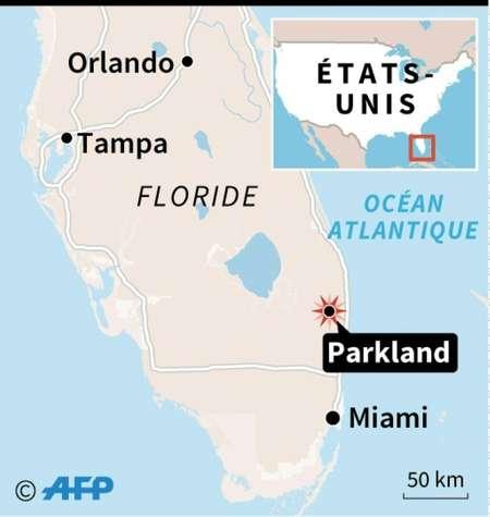 Fusillade en Floride ( Kun TIAN (AFP) )