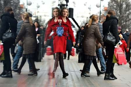 The uptick in inflation was attributed to an increase in women's outerwear ( Ben Stansall (AFP/File) )