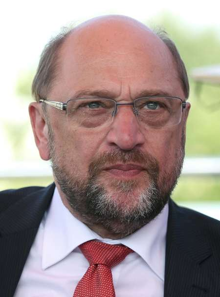 SPD leader and chancellor candidate Martin Schulz has been accused of running a plodding campaign ( RONNY HARTMANN (AFP) )