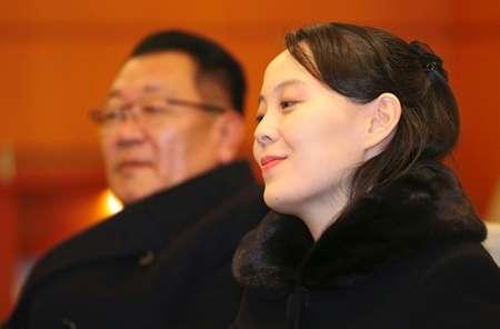 كيم يو جنغ أخت زعيم كوريا الشماية بعد وصولها الى كوريا الجنوبية في 9 شباط/فبراير 2018 ( - (دونغ-أ البو/اف ب) )