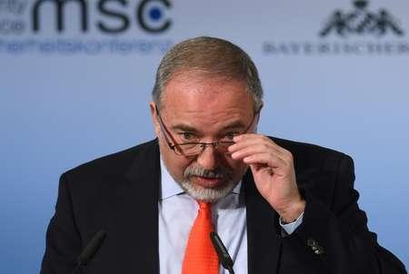 وزير الدفاع الاسرائيلي ليبرمان في مؤتمر الامن في ميونيخ