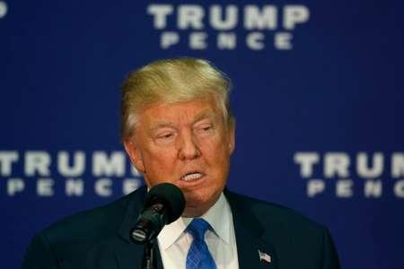 المرشح الجمهوري للرئاسة الامريكية دونالد ترامب